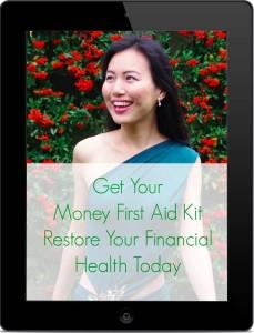 iPad - Black - Portrait - Mock-up Money First Aid Kit No Background