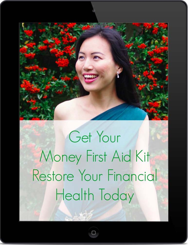 iPad - Black - Portrait - Mock-up Money First Aid Kit No Background