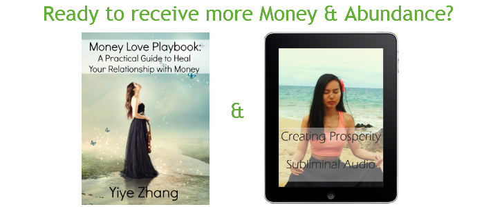 Spiritual entrepreneurs, law of attraction, manifest money, Yiye Zhang, money love