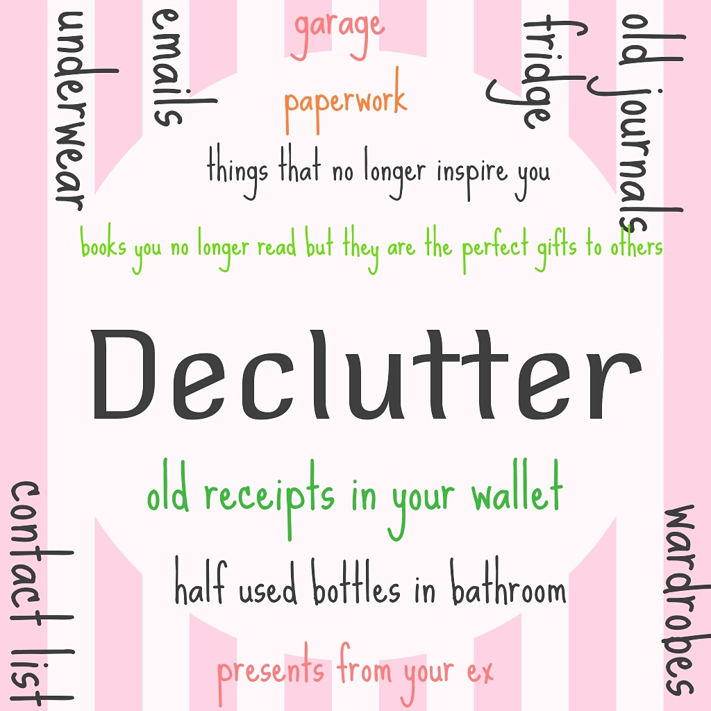 Post image for [Vlog] Prosperity In 60 Seconds: Decluttering